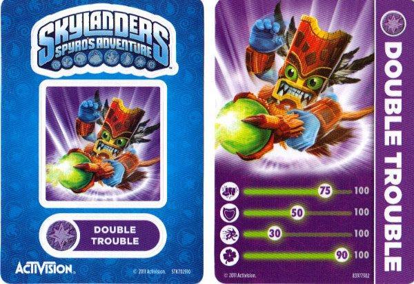 Skylanders Double Trouble